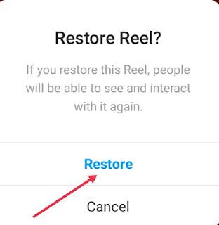 Instagram Reels Video Recover Kaise Kare