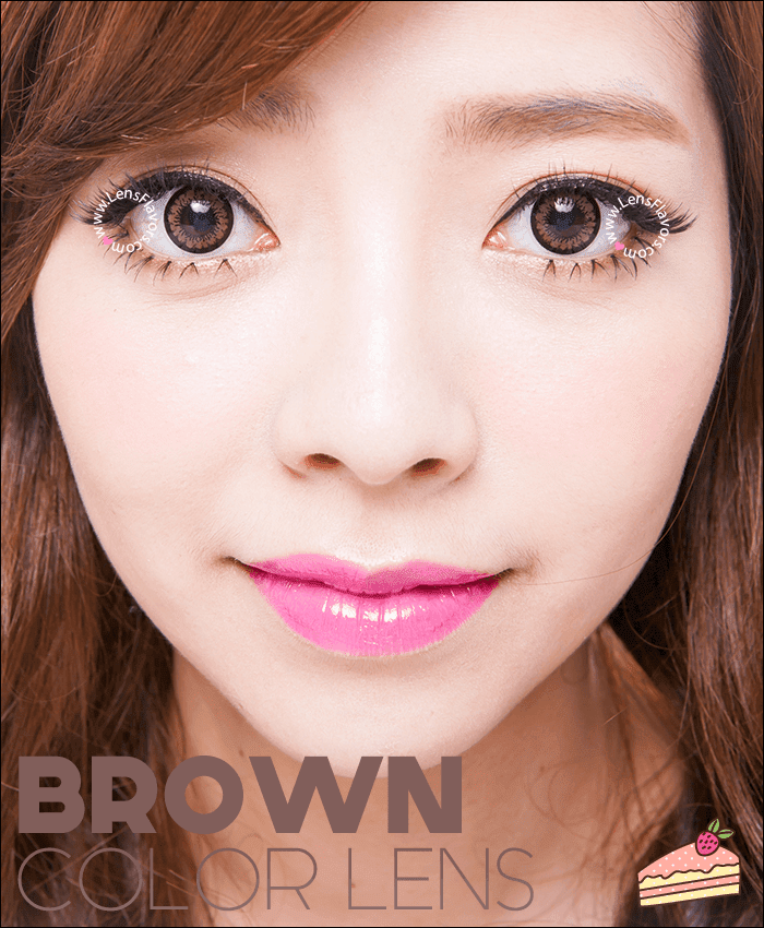 geo angel brown	 colored contacts