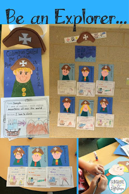 christopher Columbus was an explorer and most children LOVE to explore anything and everything.  This craft is super fun to talk about explorers