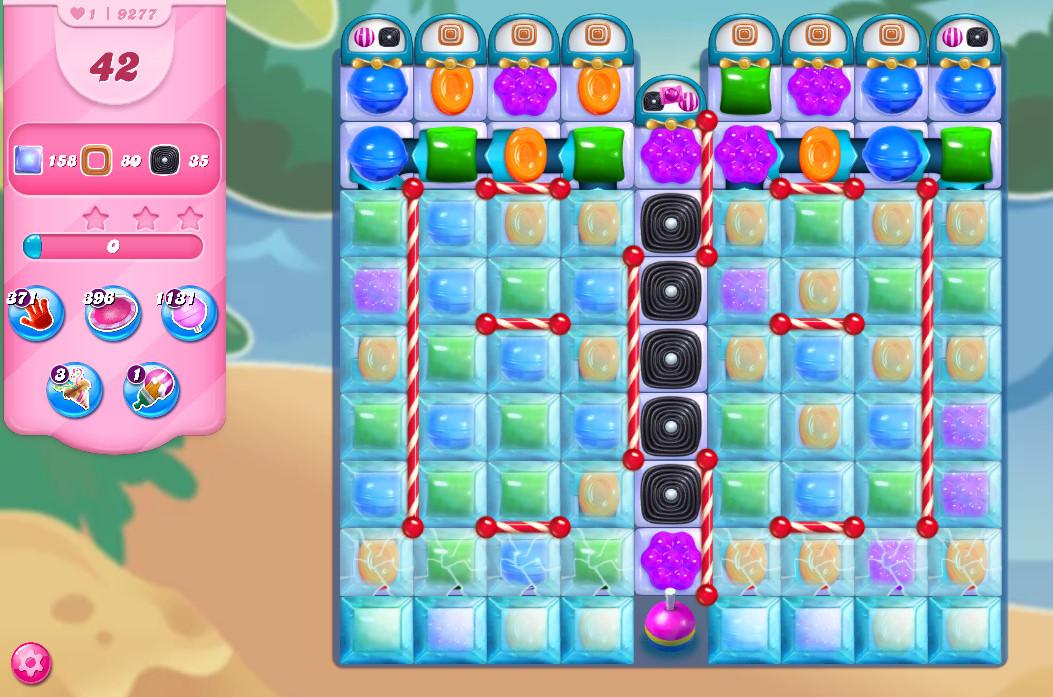 Candy Crush Saga level 9277