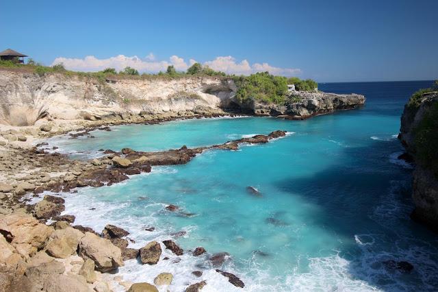 Blue Lagoon à Nusa Lembongan