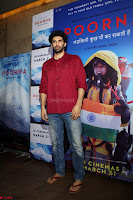 Aditya Roy Kapoor with Star Cast of MOvie Poorna.JPG (3) Red Carpet of Special Screening of Movie Poorna ~ .JPG