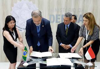 Kerjasama Pertahanan RI-Brasil
