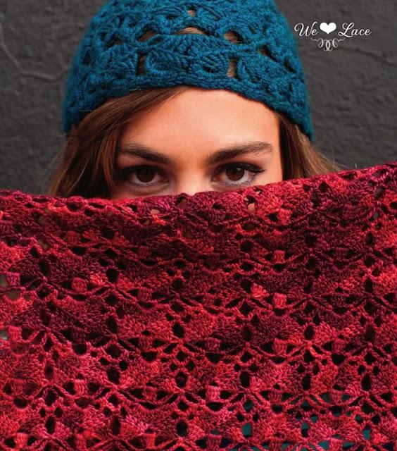 Patrón #1209: Bff Shawl a Crochet