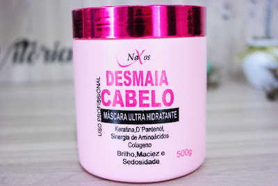 cabelos mais hidratados, colágeno capilar, força, brilho, volume natural para os cabelos, máscara capilar, Naxos