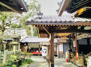 Shirakumo Shrine, Kyoto Gyoen Garden
