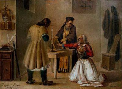 Διονύσιος Τσόκος - Ο όρκος του φιλικού, 1849