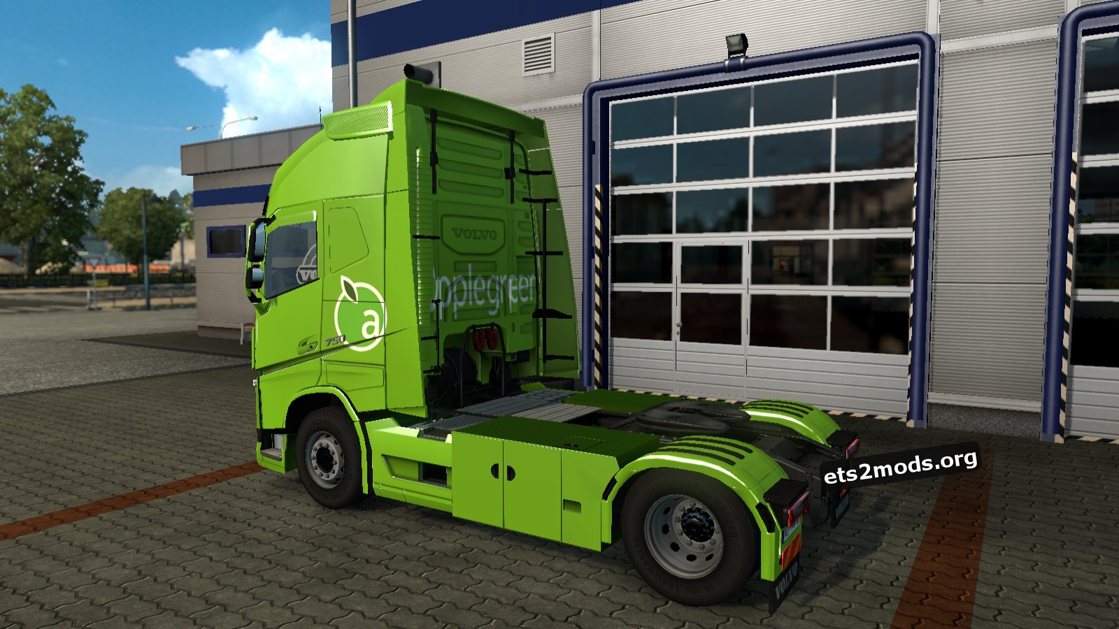Apple Green Skin for Volvo 2013