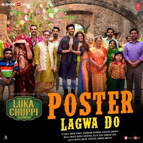 Poster Lagwa Do Lyrics - Luka Chuppi (2019)   Mika Singh - LyricsSPICE.com