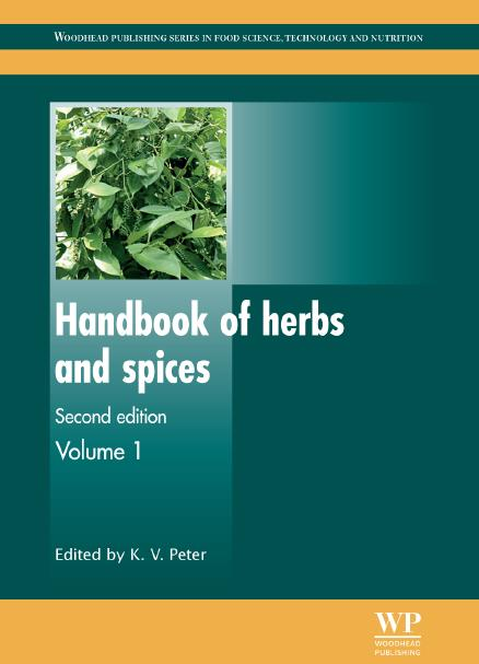 Handbook of herbs and spices, Second edition. Volume 1