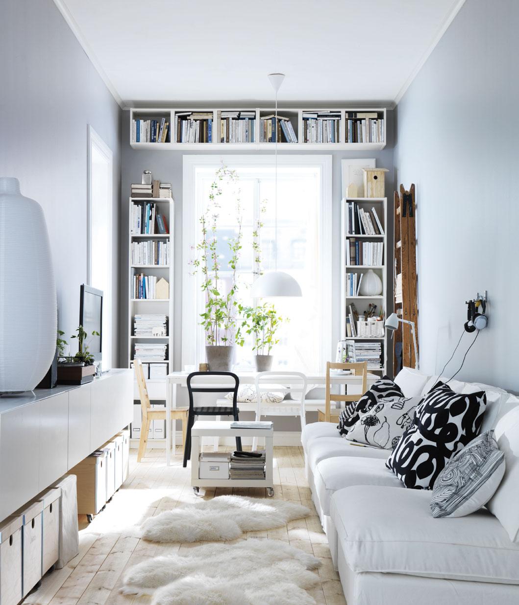 Novedades Ikea 2012: Salones. Imágenes De Ambientes Con Lo
