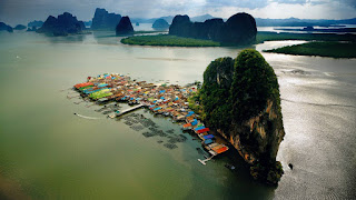Koh Panyi (Floating Muslim Village) in Thailand