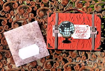 World of Good Stampin Up Box & Sending Sunshine Stampin Up card, Andrea Sargent, Independent Stampin' Up Demonstrator, South Australia
