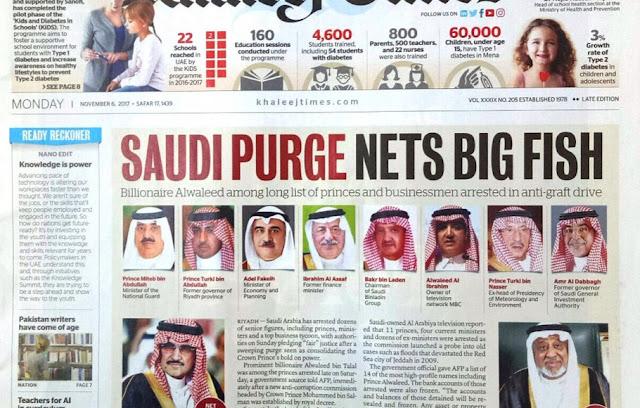 Arab Saudi Bebaskan 23 Pejabat Terduga Korupsi