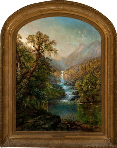 Morning in the Kaaterskill by Edmund Darch Lewis  Woodmere Art Museum