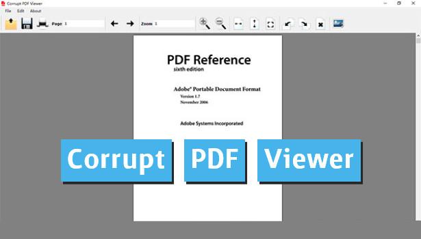 Corrupt PDF Viewer - Διαβάζουμε και επιδιορθώνουμε «χαλασμένα» PDF αρχεία