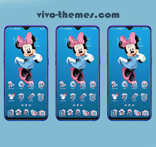 Minnie Mouse Theme For Android Vivo Smartphone
