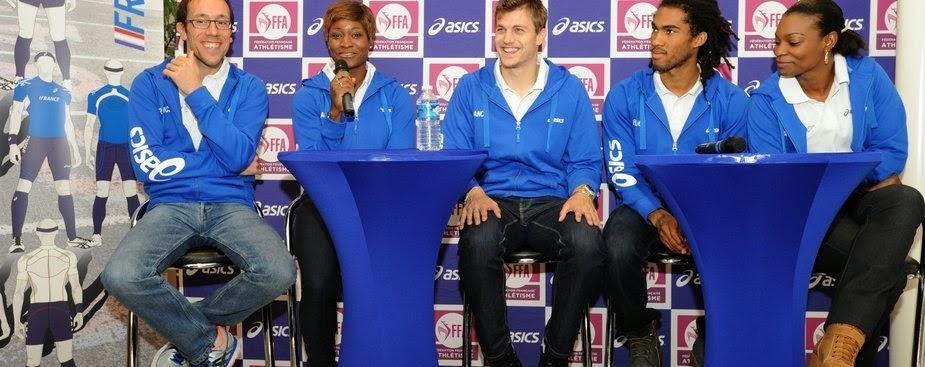 Asics renueva con la Federación Francesa de Atletismo