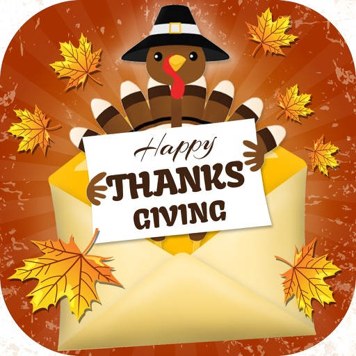 happy thanksgiving greeting card for girlfriend