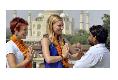 Funny Images Foreigner in India