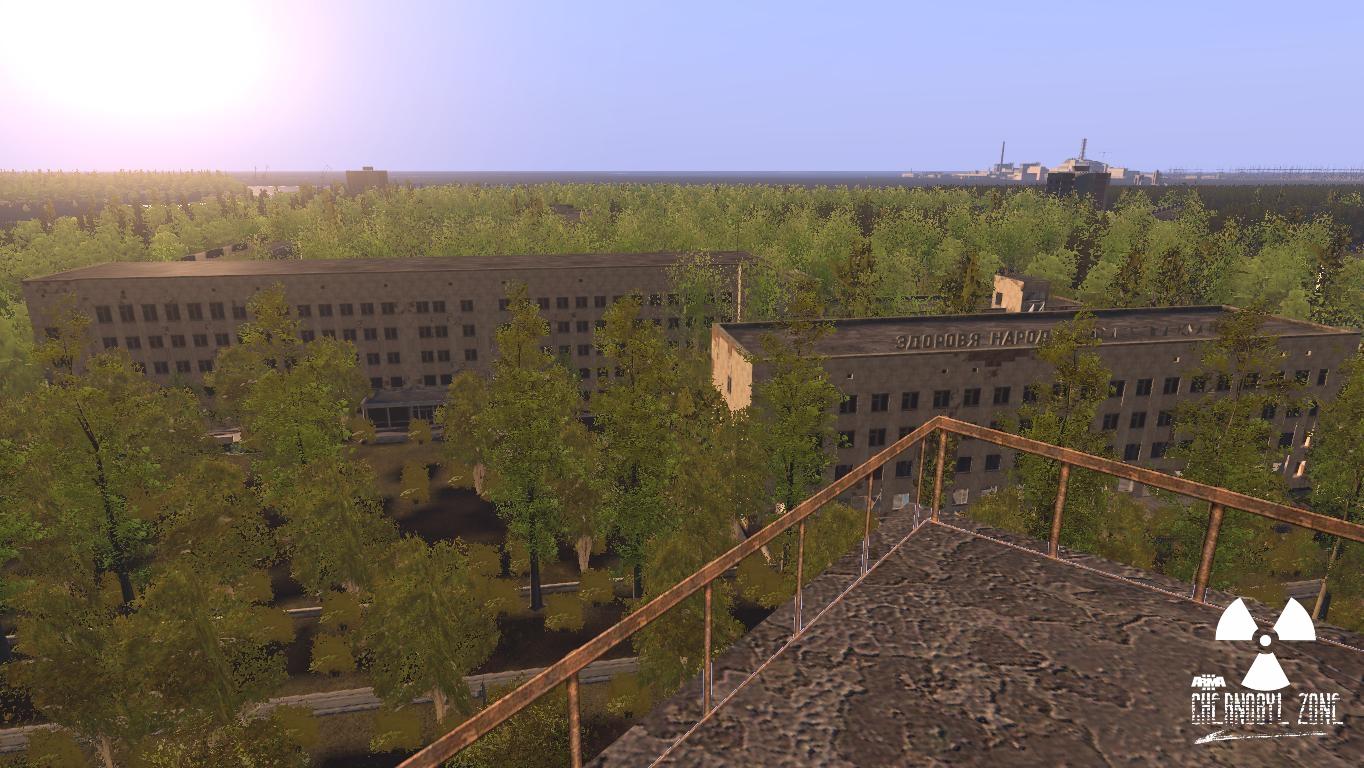 Arma 3 Chernobyl Zone Hospital and Pripyat Checkpoint