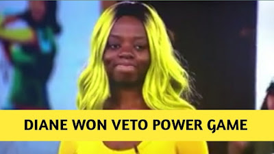 Image result for diane wins veto power game of chance