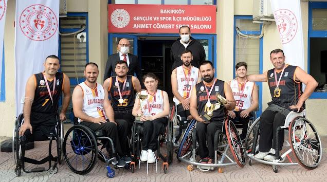 Cumhuriyet Kupası'nda şampiyon Engelsiz Aslanlar!