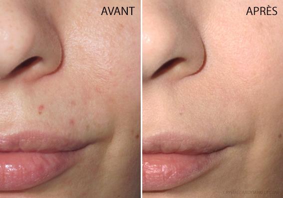 fond teint poudre flouteur Matte Velvet Skin Make Up For Ever Avis Revue Avant Après