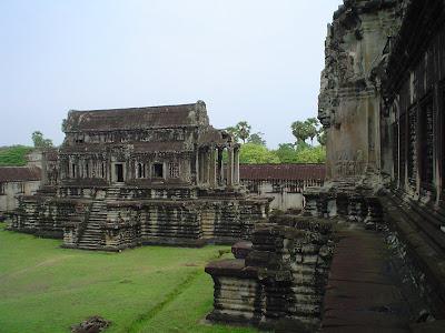 Biblioteca de Angkor Wat - Camboja