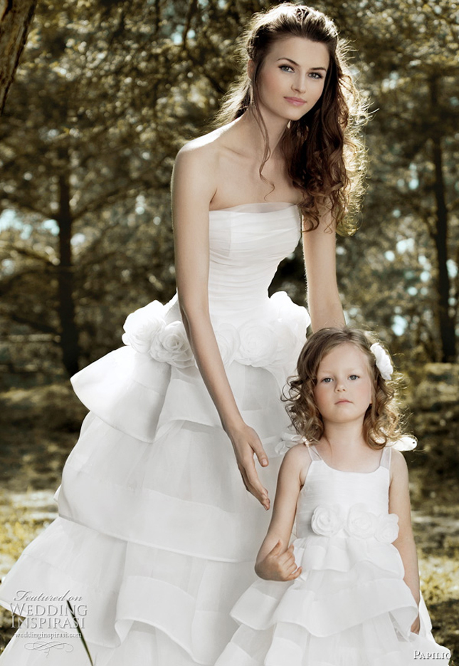 f215450fa06 Matching Flower Girl Dresses to Bridal Gowns - Belle The Magazine