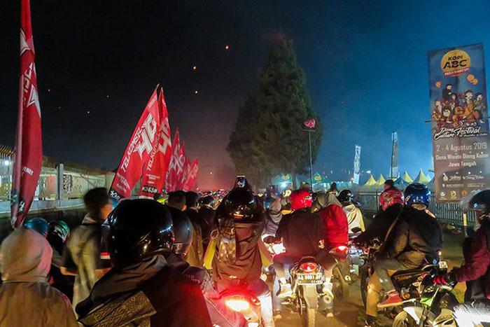 Macet Parah Usai Dieng Culture Festival 2019