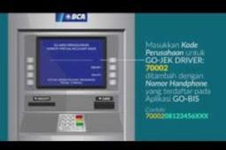 Cara Top Up Deposit Driver Melalui Bank BCA