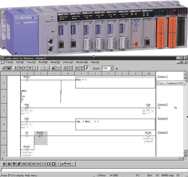 Hitachi Programmable Logic Controller : EH-150, The advance