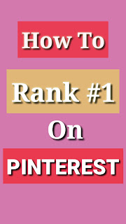 How to get rank Top page on pinterest