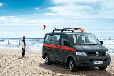 VW Camper T5 California Vantripper