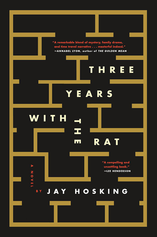 2017 Debut Author Challenge Update - Three Years with the Rat by Jay Hosking