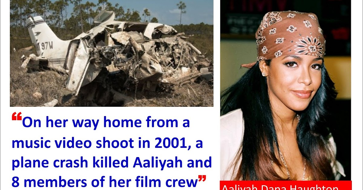 Aaliyah Dies In Plane Crash - August 25, 2001 - Songfacts
