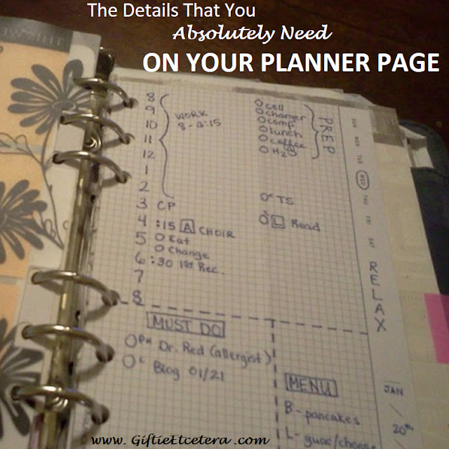 planner, plan,planners, planner page, planner details, details in a planner,