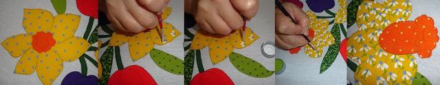 pintura em tecido estampa