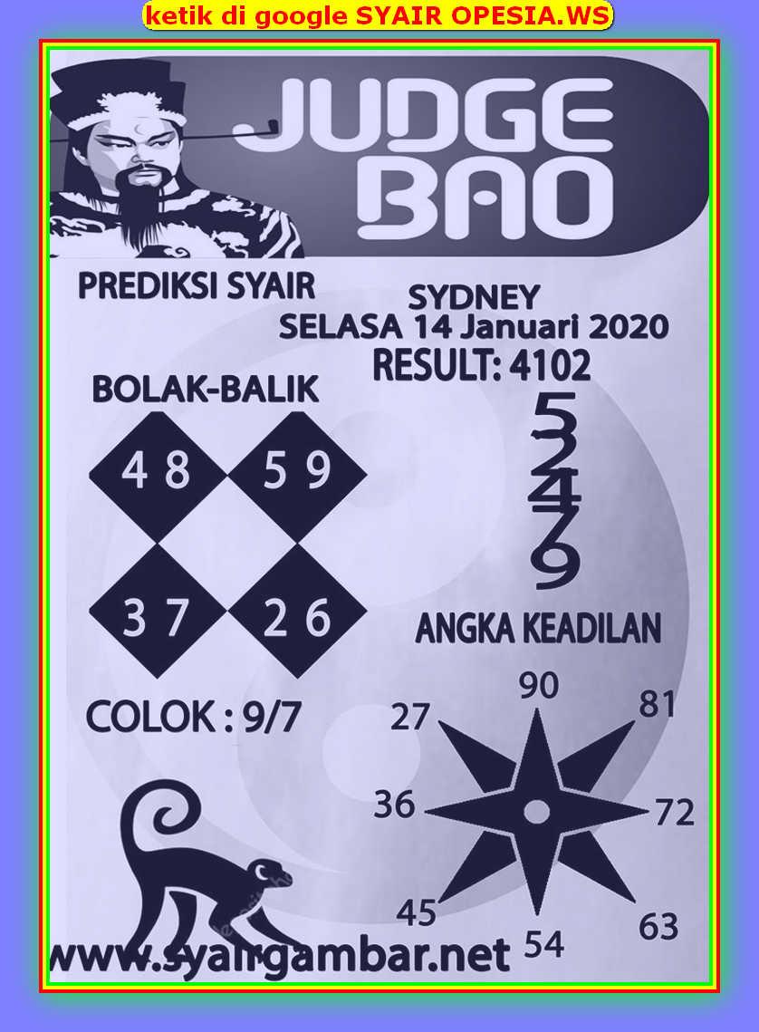 Kode syair Sydney Selasa 14 Januari 2020 56