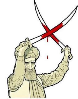Muhammad Bakhtiar Khilji Beheading Monk