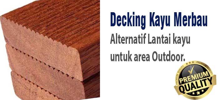 harga decking kayu merbau