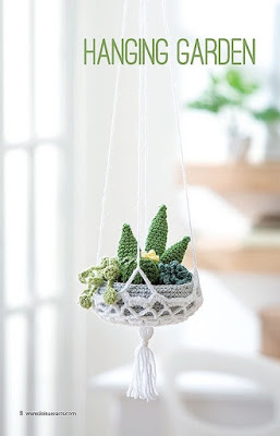 Crochet a Hanging Garden with Planter Pattern