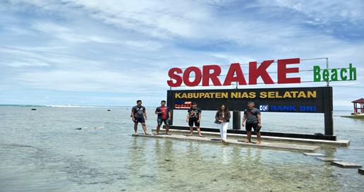 Pantai Sorake Dapatkan Bantuan Dana Desa Untuk Membangun Wahana Bermain Anak-Anak