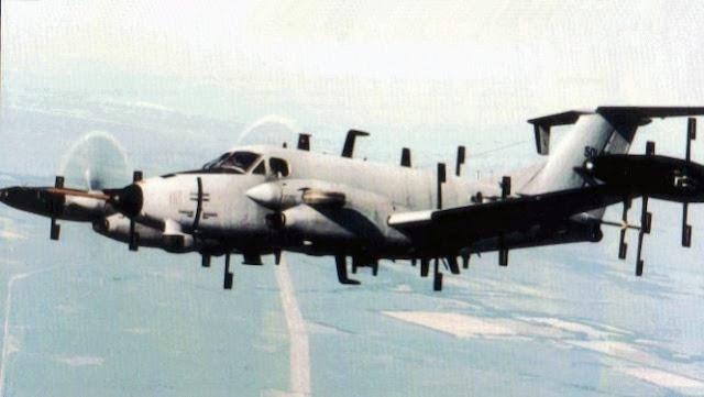 Gambar 13. Foto Pesawat Angkut Militer Beechcraft C-12 Huron