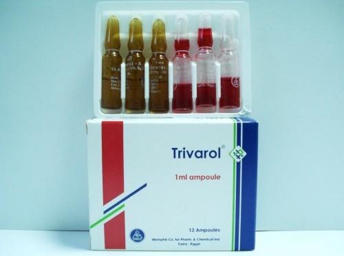 سعر ودواعي استعمال حقن تريفارول Trivarol للأعصاب