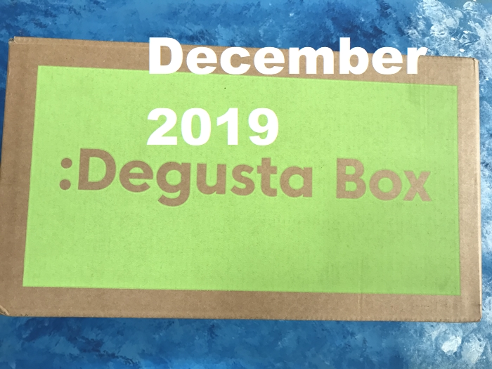 Degustabox December 2019 review on Jagruti's Cooking Odyssey