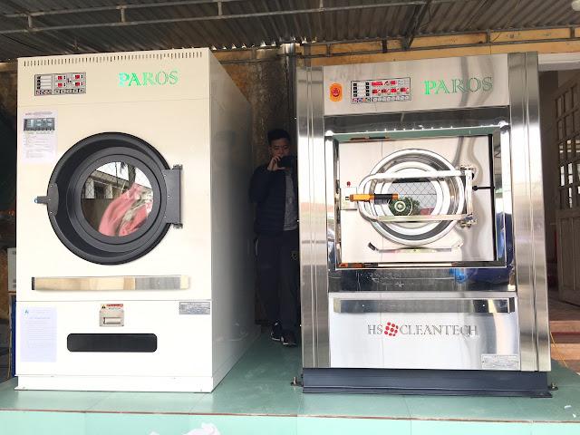 máy giặt công nghiệp cho bệnh viện