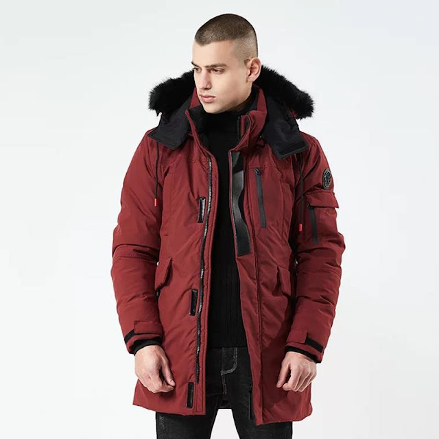 Where can get the long winter jacket under the low cost?
