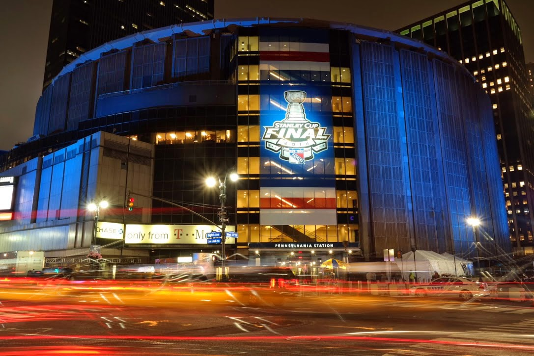 Madison Square Garden: Barbizon Lighting Company Blog: Barbizon Lights Up Madison